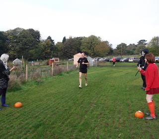 Brundall parkrun 31/10/15 with John Richardson