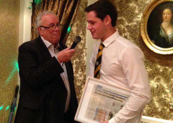 PTCC 2015 awards night: Joe Dawborn's 10 wicket story