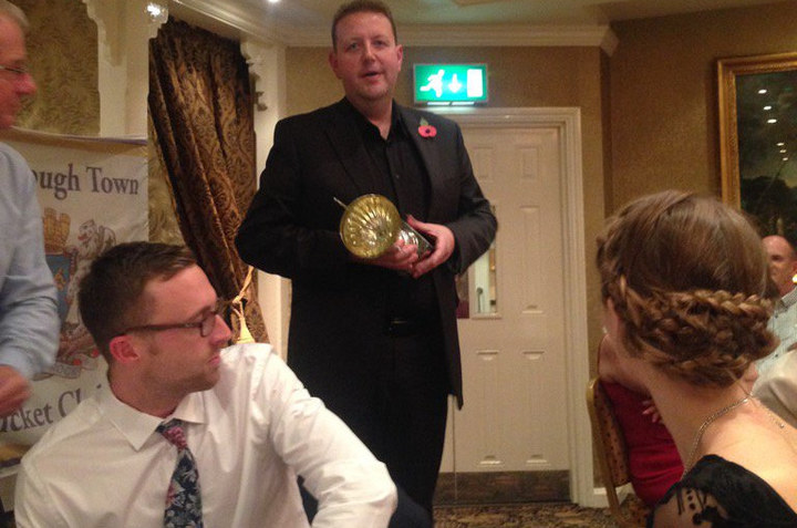 PTCC 2015 awards night: Clubman of the Year, proud outgoing junior coach Paul Barker
