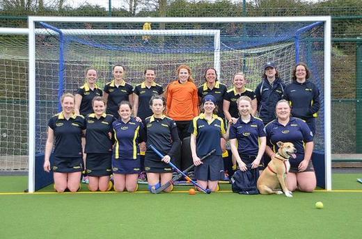 Ladies 5s - promoted 2014 / 15