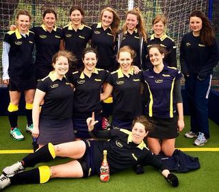 Ladies 3s - Champions 2014/15