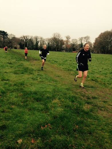 John Richardson at Mulbarton parkrun 12/12/15