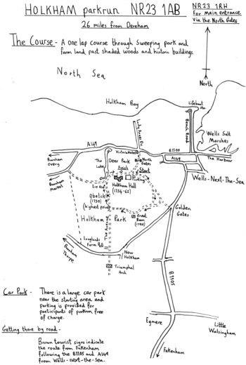 Holkham parkrun NR23 1RH (26 miles from Dereham)