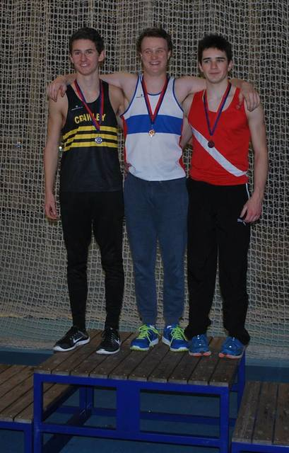Tom Farres and the Englan Indoor Championships