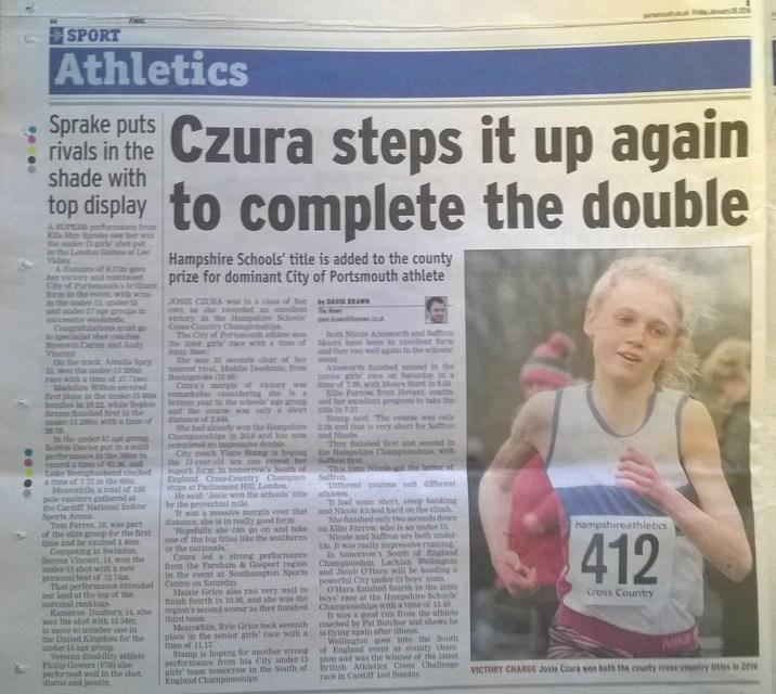 Czura And Sprake on Form