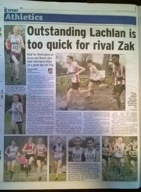 Lachlan too quick for Zak