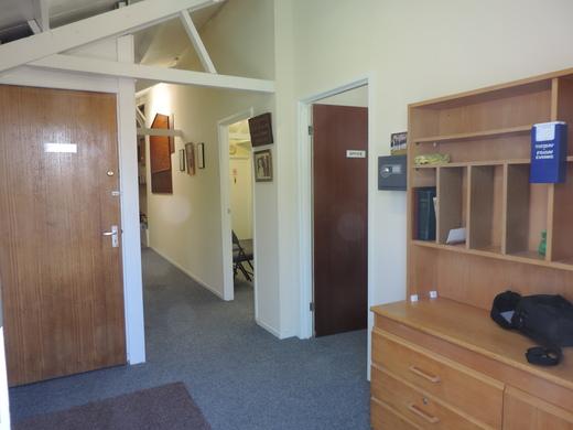 Foyer - looking in