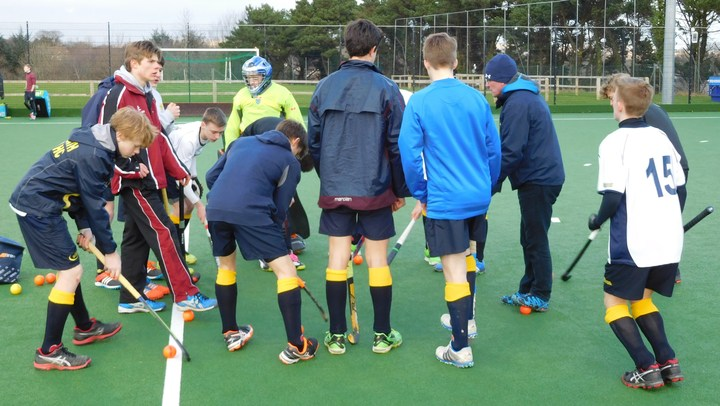 U16 Team Talk at Plymouth 2016