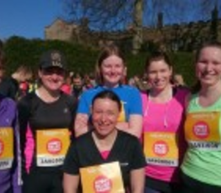 Sports Relief at Newstead Abbey
