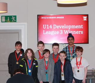 U14 Development League Winners