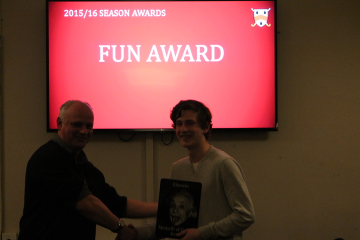 Fun Award - Einstein