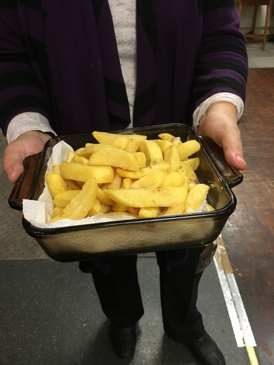 Our members often prepare hot food!