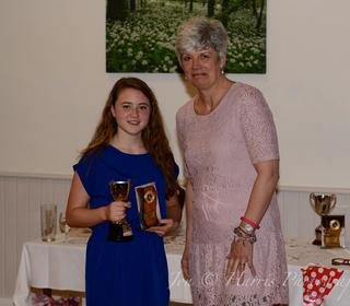 Junior Player of the Year. Charlie Harris