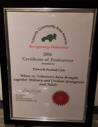TTFC Award