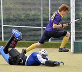 """""""Missed me!"""" Tom just about to score Walden's 2nd"""