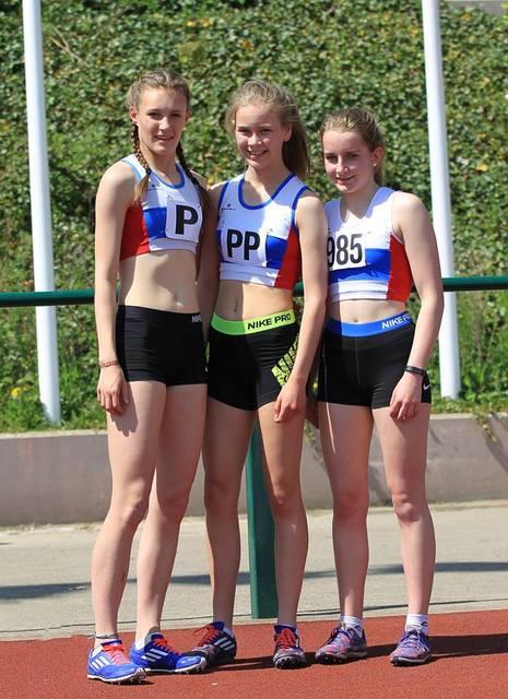 U17 Girls Team Members