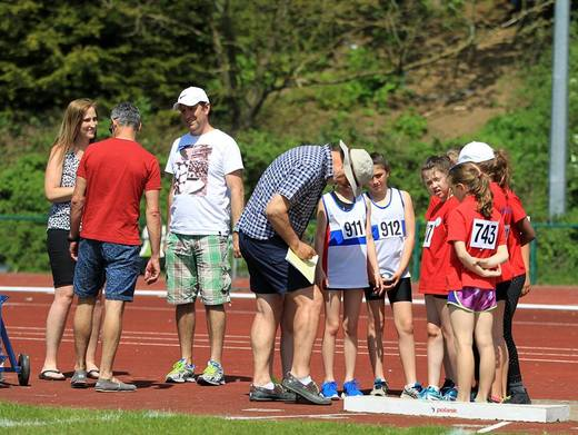 U11 Shot Put Alder Valley League