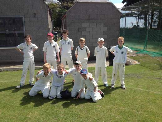 U11As winning team v Rush this morning