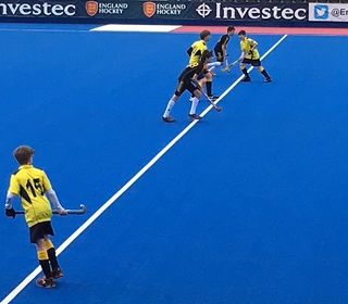 Poised for push-back @ Lee Valley Olympic Hockey Stadium