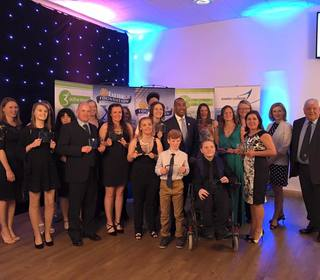 Active Devon Award Winners with Colin Jackson & Tony Rowe OBE