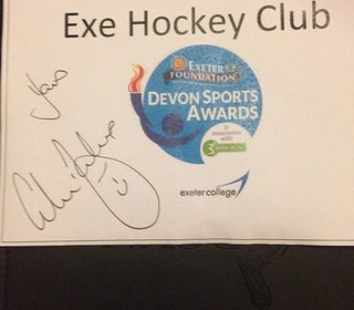 Colin Jackson endorsing our Devon Club of the Year Winner!
