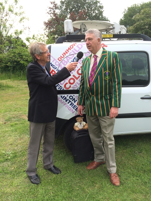 Dick Davies interviewing David Barrs