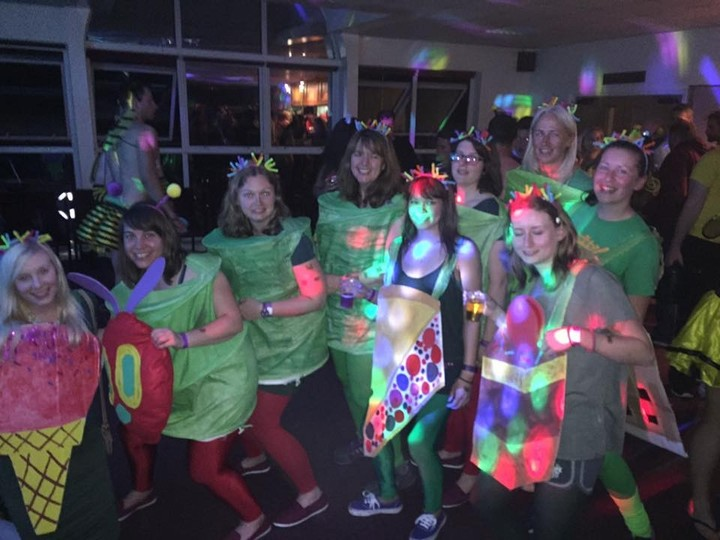 Winning Fancy Dress - Norwich Dragon Ladies