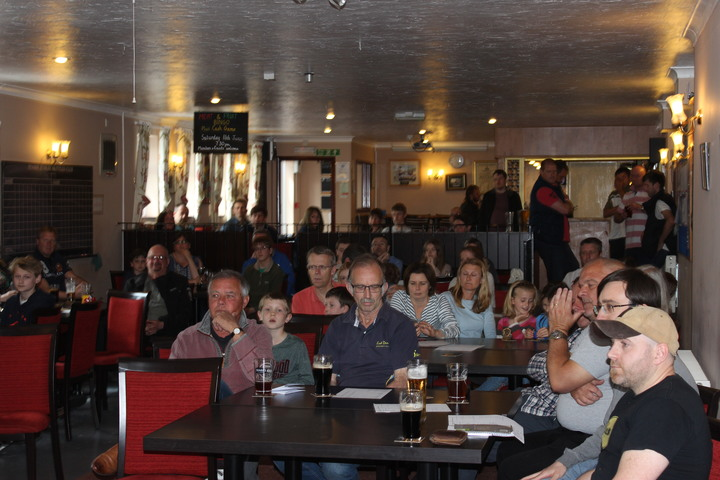 A full room at The Jubilee Club