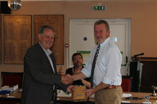 David Chard receives a gift after 6 years as Chairman