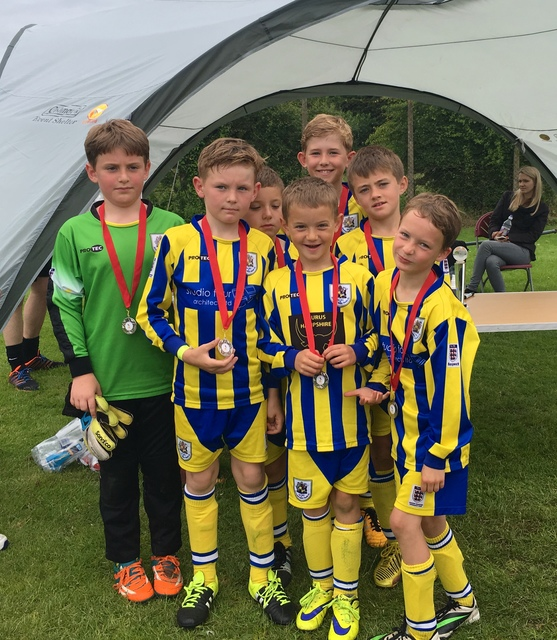 U8 Panthers get runners up at the Stockbridge Tournament